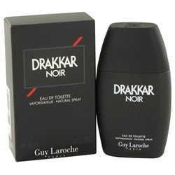 Guy Laroche Drakkar Noir Eau de Toilette Spray for Men, 1.7 fl oz