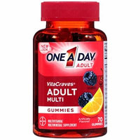 One A Day Vitacraves Regular Gummies, 70 Count