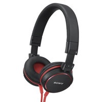 Sony On-the-Ear Headphones - Black (MDRZX600/BLK)
