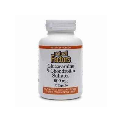 Natural Factors Glucosamine & Chondroitin Sulfates, 900mg 120 capsules