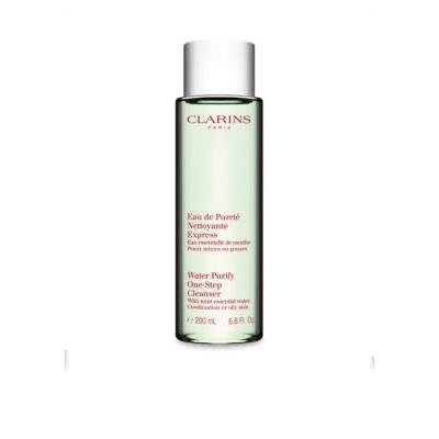 Clarins Water Purify One-Step Cleanser with Mint Essential Water