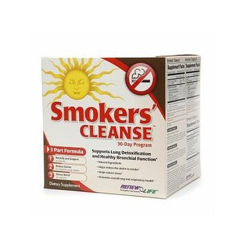 ReNew Life Smokers' Cleanse, 30 Day Program 1 set