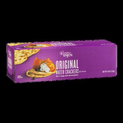 Simply Enjoy Original Water Crackers