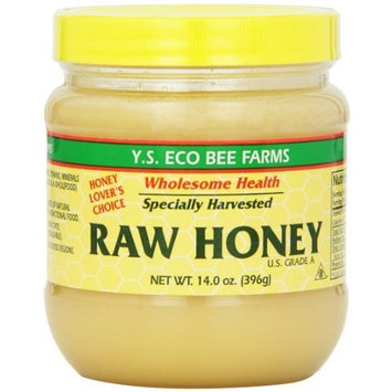 Y.s. Eco Bee Farms Raw Honey 14 oz Paste