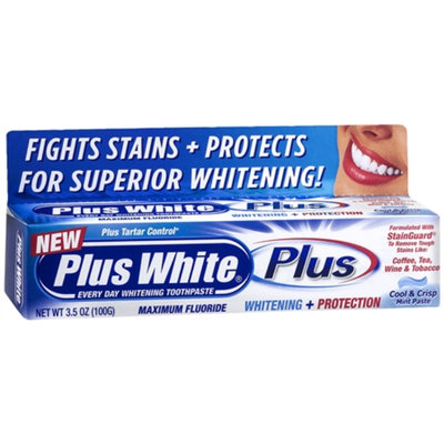 Plus White PLUS Toothpaste, 3.5 oz