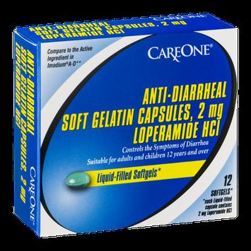 CareOne Anti-Diarrheal Soft Gelatin Capsules - 12 CT