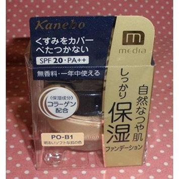 Kanebo Media Makeup Moisture Foundation 25g SPF20 PA++ (PO-B1)