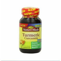 Nature Made Tumeric Capsules 500 Mg, 60 Count (2)
