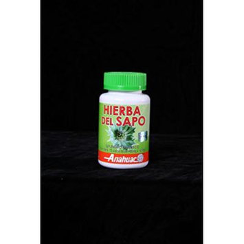 Hierba Del Sapo to Aid in Lowering Cholesterol and Triglycerides in the Blood and Diseases of Aging.