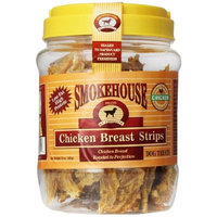 Smokehouse 100-Percent Natural Chicken Breast Strips Dog Treats