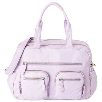 OiOi Faux Lizard Carry-All Diaper Bag in Orchard