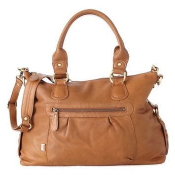 OiOi Tote Slouch Bag / Tan Leather