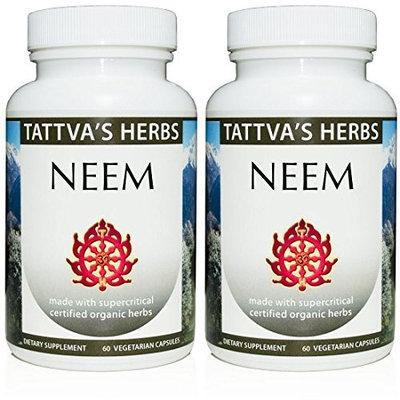 Tattva's Herbs LLC. Neem Organic Supercritical 60 VegCaps