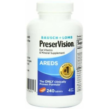 Bausch And Lomb Bausch And Lomb Ocuvite Preservision Tablets