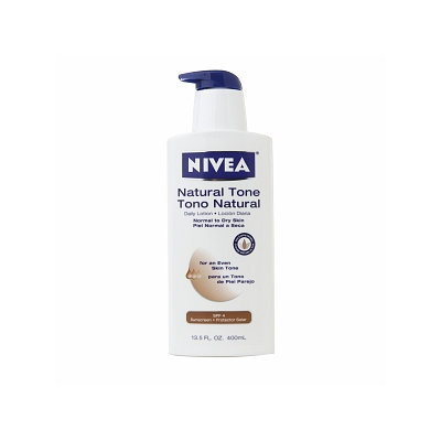 Nivea Body Natural Tone Body Lotion for an Even Skin Tone SPF 4
