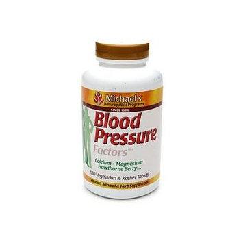 Michael's Naturopathic Programs Blood Pressure Factors, Veggie Tabs 180 ea