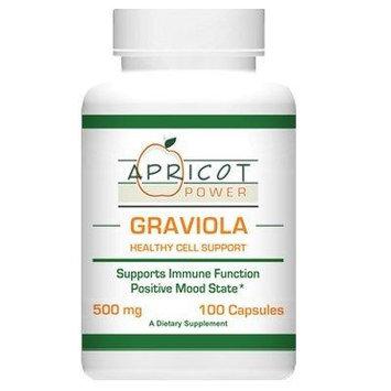 Graviola - 500 Mg, 100 Capsules