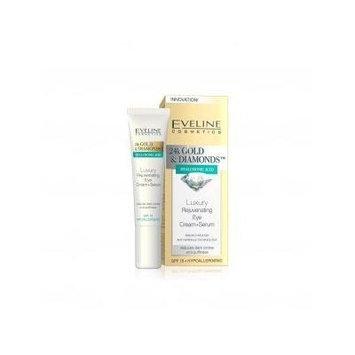 24K GOLD DIAMONDS Luxury Rejuvenating Eye cream Serum 15 ml