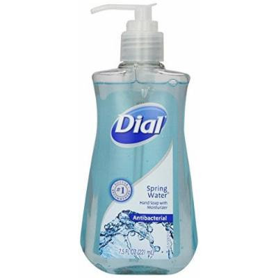 Dial Liquid Hand Soap, Spring Water, 7.5 Ounce (2 Pack)