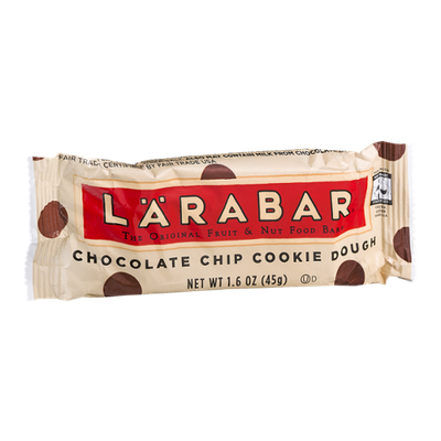 Larabar Chocolate Chip Cookie Dough Fruit & Nut Food Bar