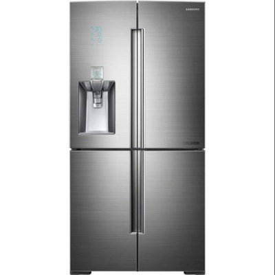 Samsung 34.3 Cu. Ft. Stainless Steel French Door Refrigerator RF34H9960S4