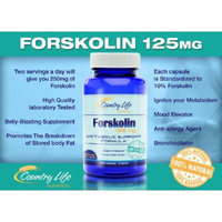 Forskolin 125mg Standardized to 10% - 100% Pure, High Quality Coleus Forskohlii Root Extract for Weight-Loss - 30 Vegetarian Capsules