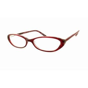 Jones New York 716 Red Designer Reading Glass Frame