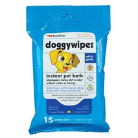 Petkins Doggy Wipes - 15 ct