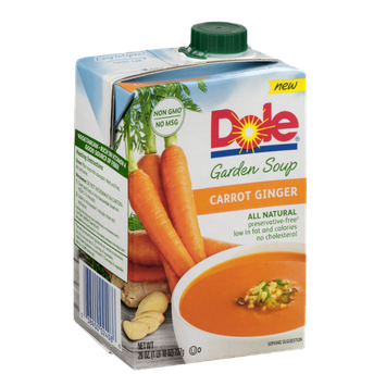 Dole Garden Soup Carrot Ginger