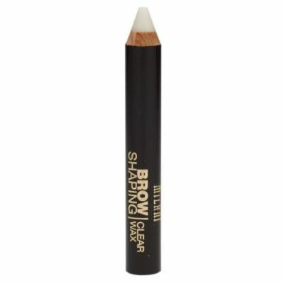Milani Brow Shaping Clear Wax, Clear 01 0.09 oz (2.6 g)