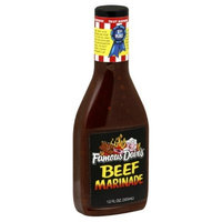 Famous Dave's Marinade Beef, 12-Ounce (Pack of 6)