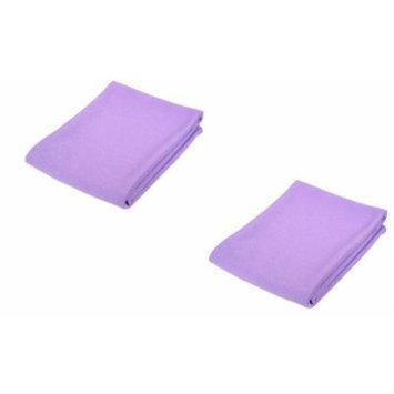 Norwex Antibacterial, Antimicrobial Microfiber Window Polishing Cloth 2 Pack (Color May Vary)
