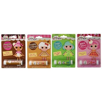 Lalaloopsy Flavored Lip Balm x 4 Pack Set