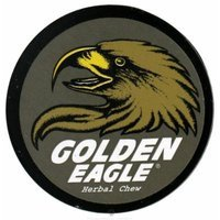 Golden Eagle Herbal Chew NonTobacco Chews Straight (Gray Label) 1.2 oz. plastic canisters (a)