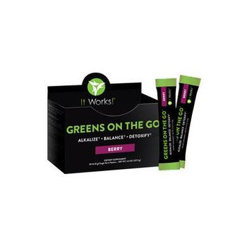 It Works! Greens on the Go, 10 Count, Berry