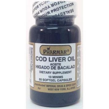Aceite De Higado De Bacalao Capsules 50's Cod Liver Oil