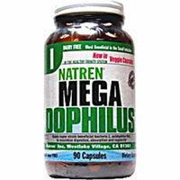 Natren Mega Dophilus Dairy Free 90 Vegetarian Capsules