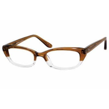 Eddie Bauer Designer Reading Glass Frames EB8290 in Brown Fade ; Demo Lens