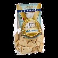 Sandamiri Crostini Rustic Style Crackers Sea Salt