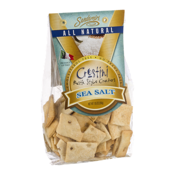 Sandamiri Crostini Rustic Style Crackers Sea Salt