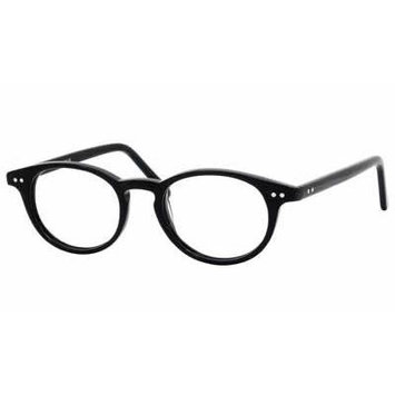 Eddie Bauer Designer Reading Glass Frames EB8206 in Black ; Demo Lens