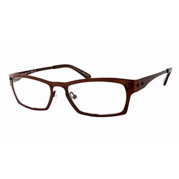 Eddie Bauer Designer Reading Glass Frames EB8229 in Brown ; Demo Lens