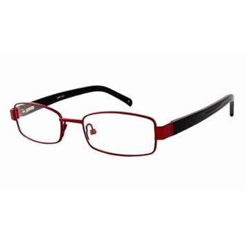 Seventeen 5912 in Burgundy Designer Reading Glass Frames ; Demo Lens