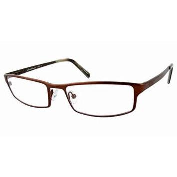Eddie Bauer Designer Reading Glass Frames EB8260 in Brown ; Demo Lens