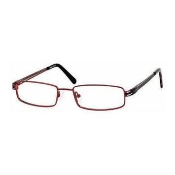 Seventeen 5326 in Burgundy Designer Reading Glass Frames ; Demo Lens