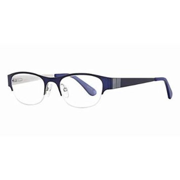 Seventeen 5375 in Navy Designer Reading Glass Frames ; Demo Lens