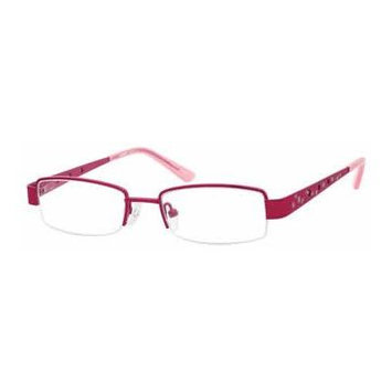 Seventeen 5354 in Fuchsia Designer Reading Glass Frames ; Demo Lens