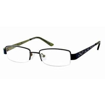 Seventeen 5354 in Sapphire Designer Reading Glass Frames ; Demo Lens