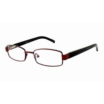 Seventeen 5912 in Brown Designer Reading Glass Frames ; Demo Lens