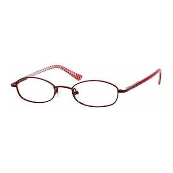 Seventeen 5301 in Burgundy Designer Reading Glass Frames ; Demo Lens